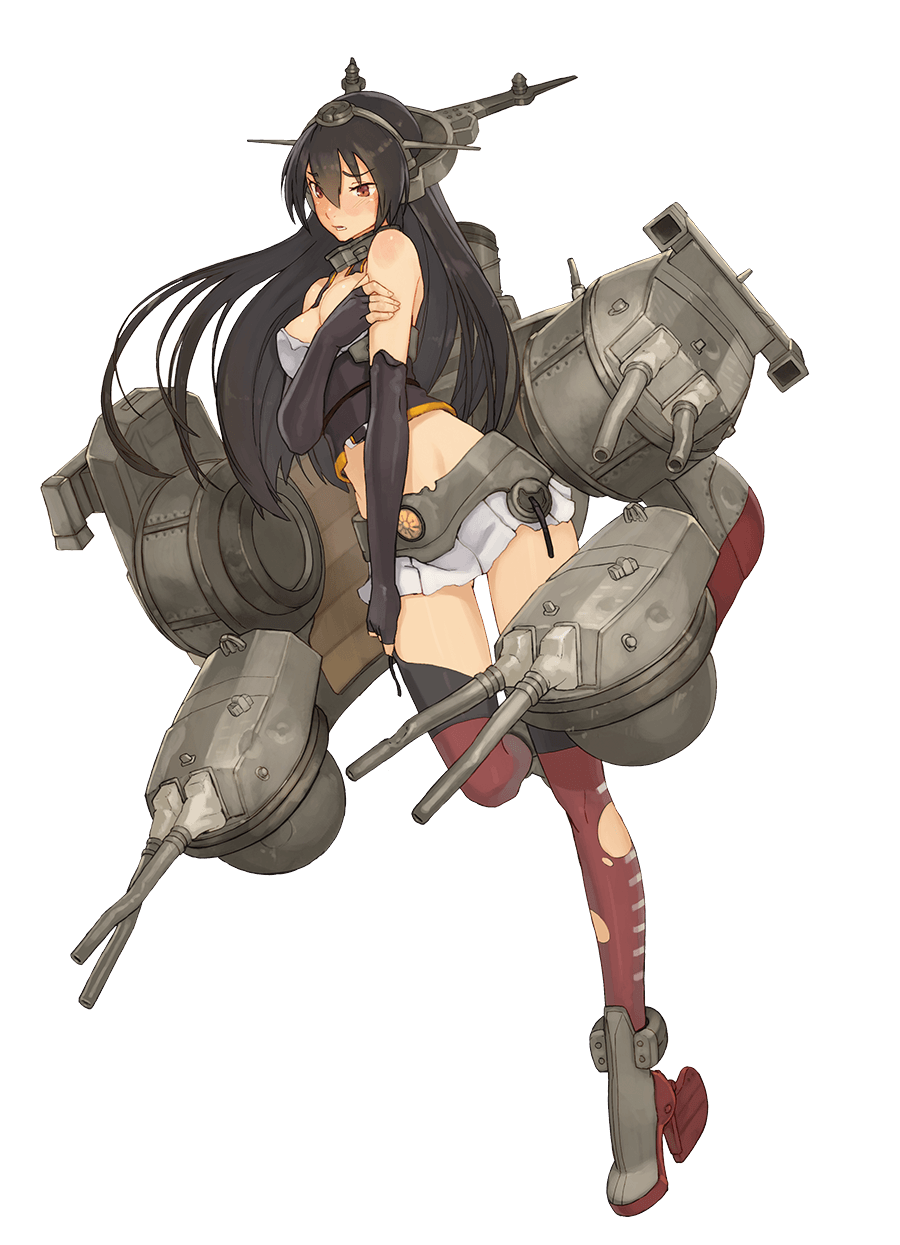 Nagato Full Damaged