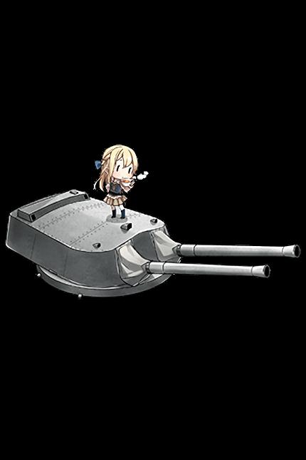 38.1cm Mk.I Twin Gun Mount 190 Full