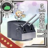 5inch Twin Gun Mount Mk.28 mod.2 172 Card