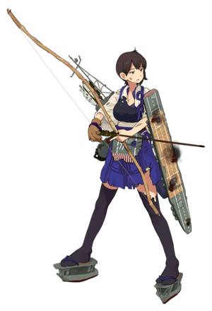 Kaga Full Damaged