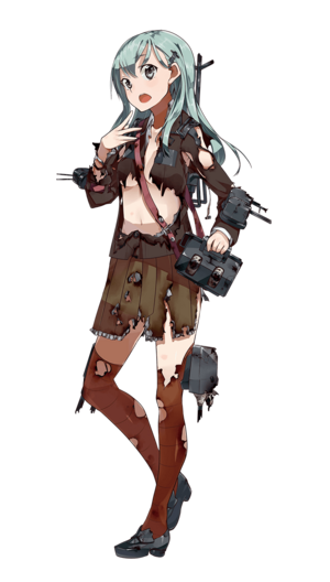 Suzuya Full Damaged