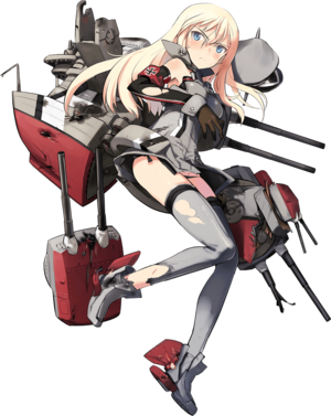 Bismarck Kai Full Damaged