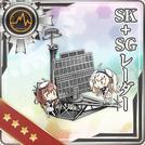 SK + SG Radar 279 Card