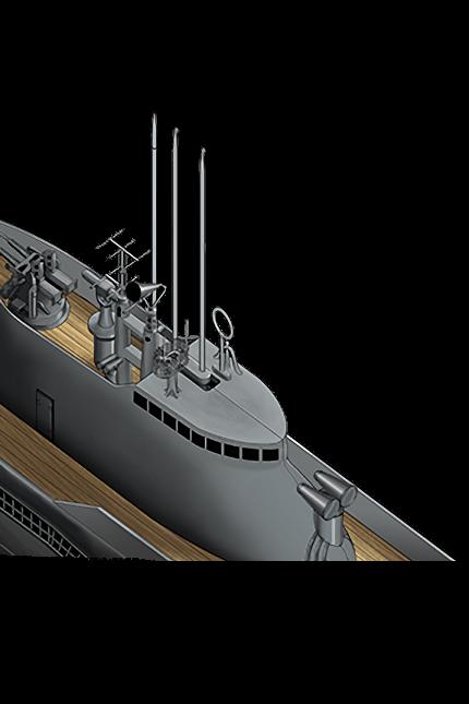 Late Model Submarine Radar & Passive Radiolocator 384 Equipment