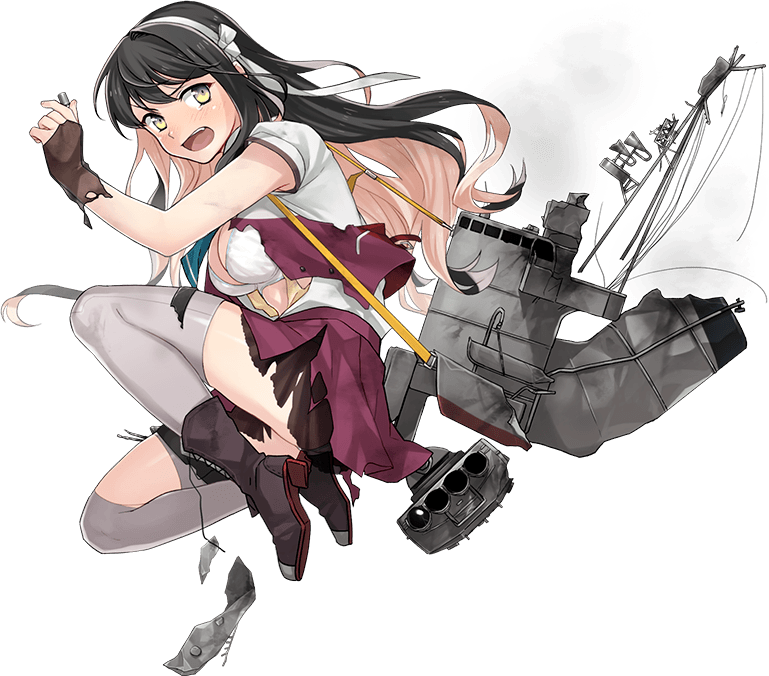 Naganami Kai Ni Summer Uniform Full Damaged