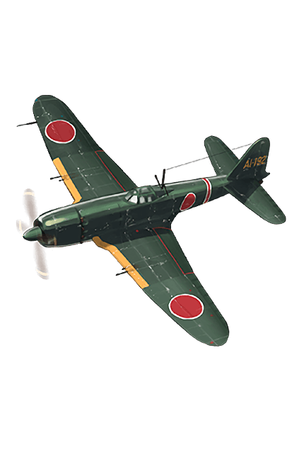 Reppuu Kai (Prototype Carrier-based Model) 335 Equipment