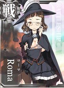 Roma Halloween Card Damaged