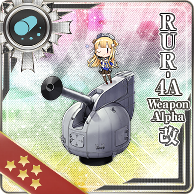 RUR-4A Weapon Alpha Kai 377 Card