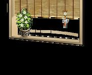 Ground cherry flower window