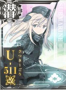 SS U-511 Kai 334 Card