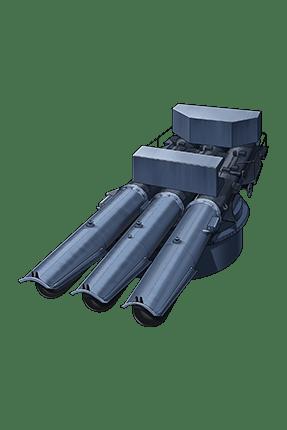 533mm Triple Torpedo Mount 283 Equipment