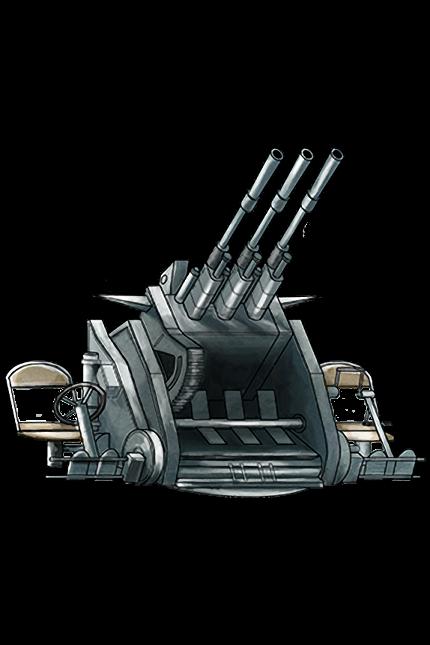 25mm Triple Autocannon Mount 040 Equipment