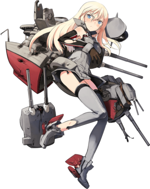 Bismarck Full Damaged