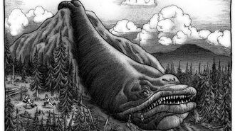 Cryptids and Monsters The Slide Rock Bolter