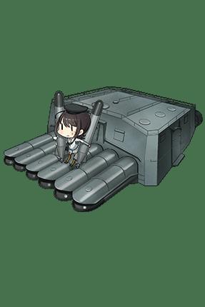 Prototype 61cm Sextuple (Oxygen) Torpedo Mount 179 Full