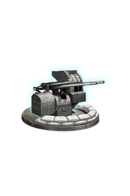12.7cm Twin High-angle Gun Mount Kai 2 380 Equipment