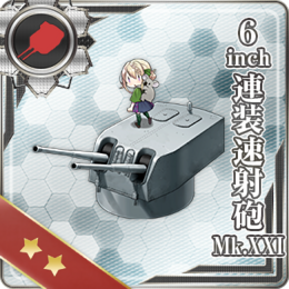6inch Twin Rapid Fire Gun Mount Mk.XXI 359 Card