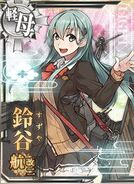 CVL Suzuya Carrier Kai Ni 508 Card