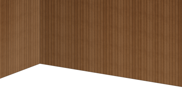 Wooden board wall
