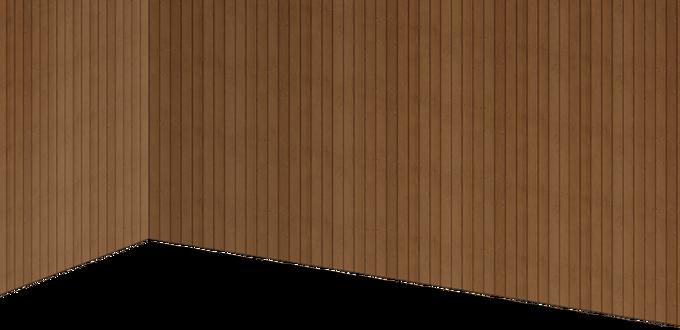 Wooden board wall