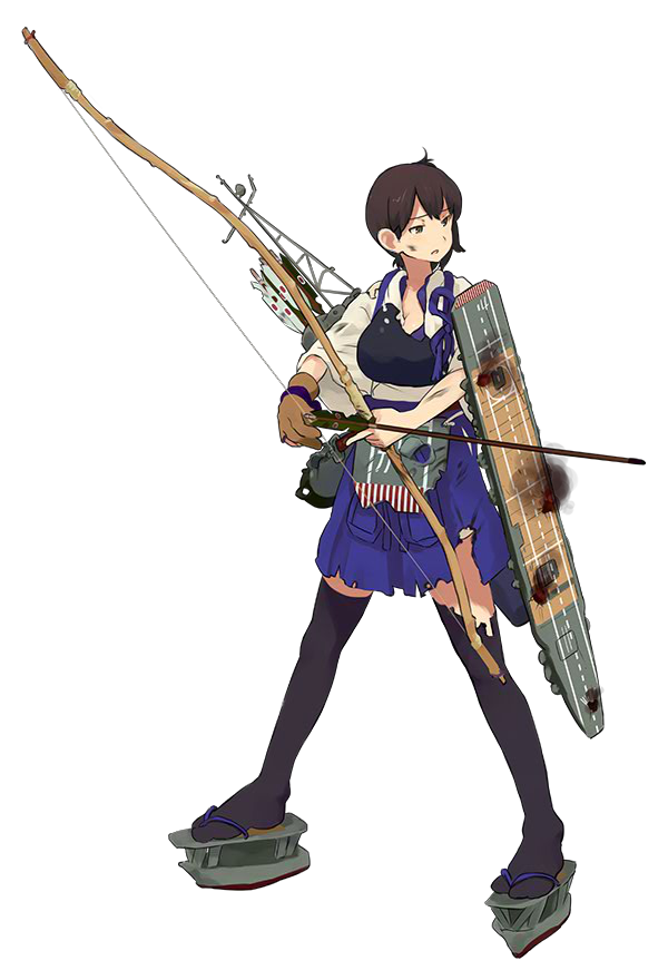 CV Kaga 084 Full Damaged
