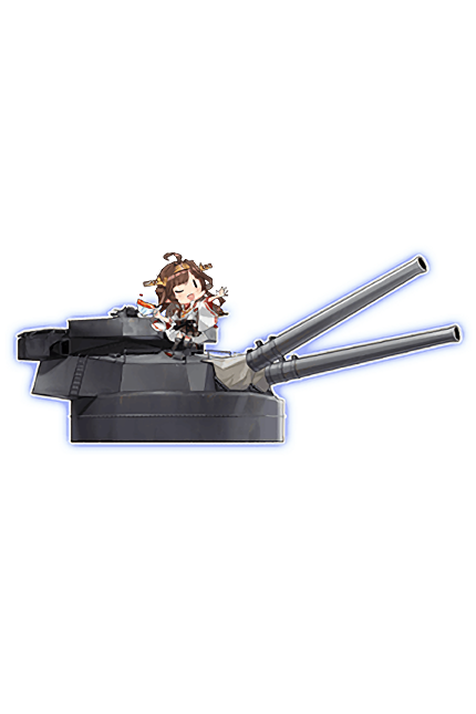35.6cm Twin Gun Mount Kai Ni 329 Full