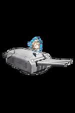 8inch Triple Gun Mount Mk.9 mod.2 357 Full