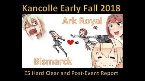 KanColle Early Fall 2018 Event E-5 3rd Boss LD Clear HARD甲 Post-Event Report