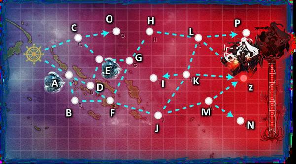 Summer 2015 E6 Map