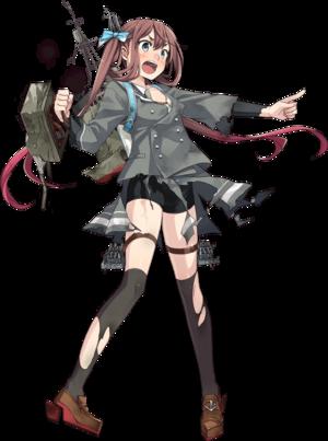 Asagumo Autumn-Winter Uniform Full Damaged