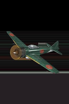 Type 0 Fighter Model 52 021 Equipment