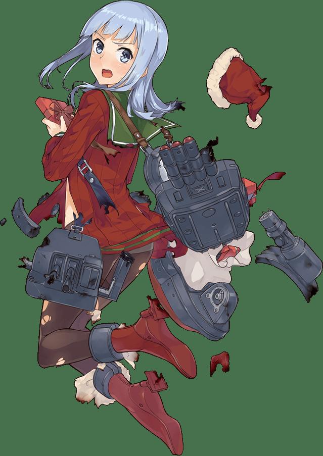 Hatsukaze Christmas Full Damaged
