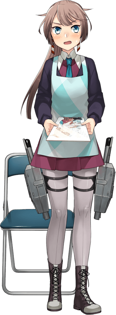 Kazagumo Booth Girl Full