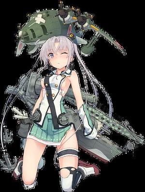AV Akitsushima 445 Full Damaged