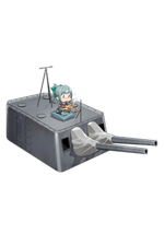 14cm Twin Gun Mount Kai 310 Full