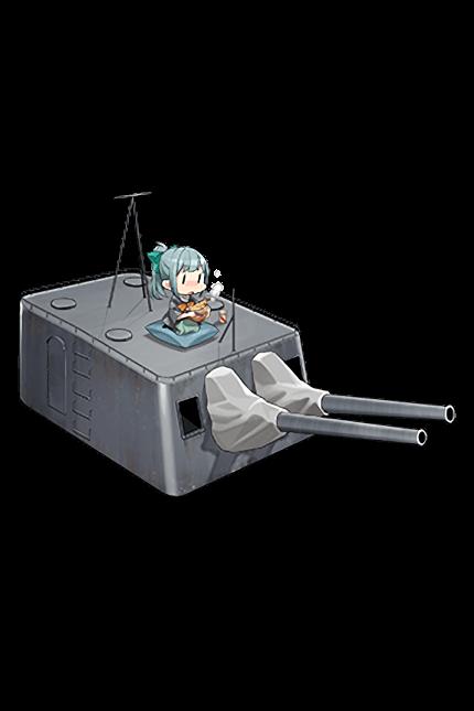 14cm Twin Gun Mount Kai 310 Full