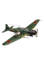 Prototype Type 97 Torpedo Bomber Kai No. 3 Model E (w Type 6 Airborne Radar Kai) 344 Full