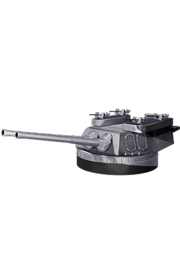 16inch Mk.VIII Twin Gun Mount Kai 332 Equipment