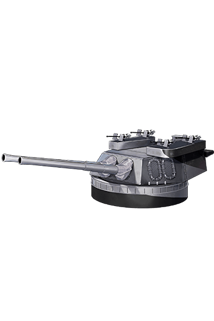 16inch Mk.VIII Twin Gun Mount Kai 332 Equipment