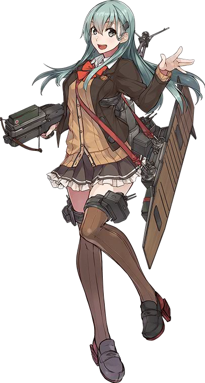 CVL Suzuya Carrier Kai Ni 508 Full