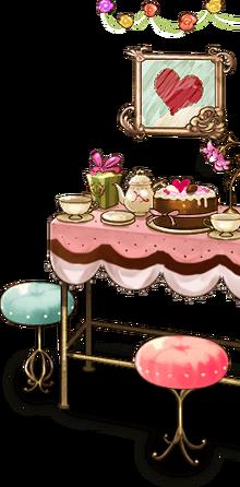 Chocolate and tea set