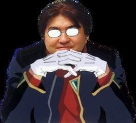 Tanaka Gendo Pose