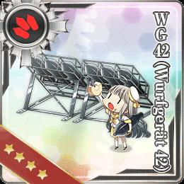 WG42 (Wurfgerät 42) 126 Card