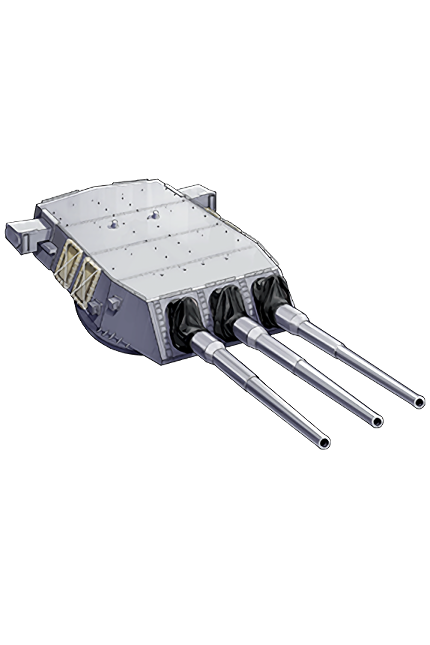16inch Triple Gun Mount Mk.6 381 Equipment