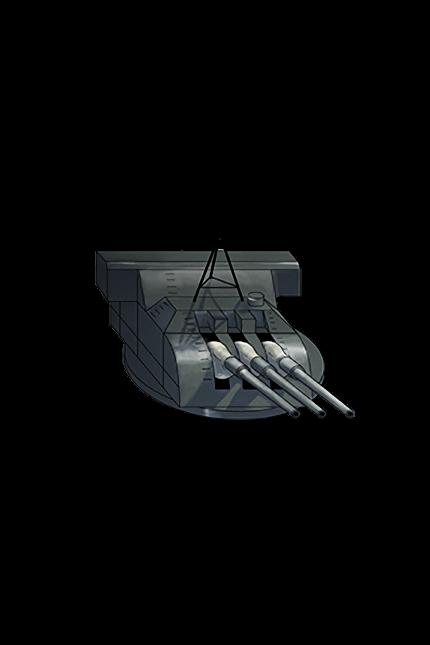 15.5cm Triple Gun Mount 005 Equipment