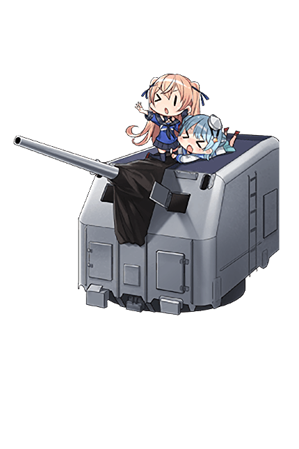 5inch Single Gun Mount Mk.30 Kai 313 Full