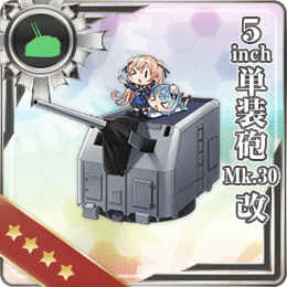 5inch Single Gun Mount Mk.30 Kai 313 Card
