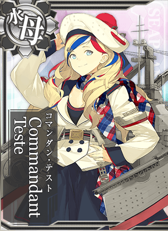 Commandant Teste Card