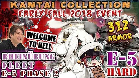 【KanColle】Early Fall 2018 Event E-5甲 Hard (Phase 2)