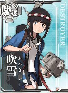 Fubuki Happi Card Damaged